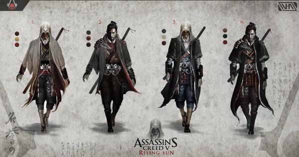 《Assassin's Creed : Rising Sun》刺客信條殺到去日本?
