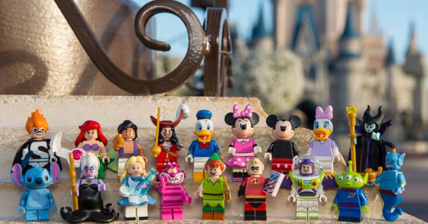 LEGO Minifigures The Disney Series 五月一日確定發售