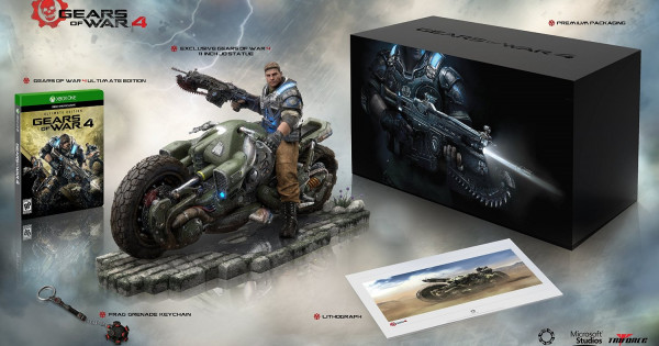 《 Gears of War 4 》Collector's Edition 曝光 !