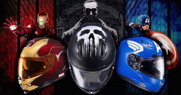 戴頭盔,做英雄!