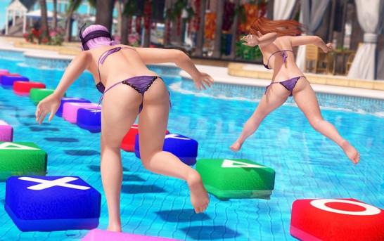 《DOAX 3》泳池跳方塊技巧