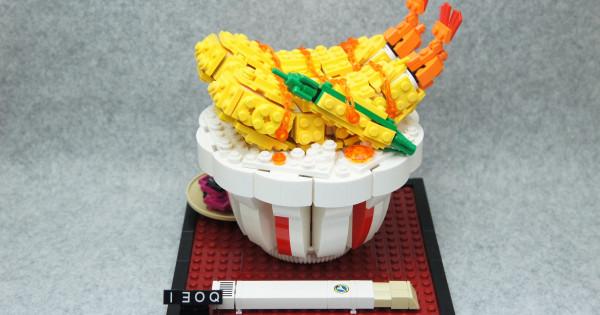 肚餓都幫你唔到 LEGOの美食家