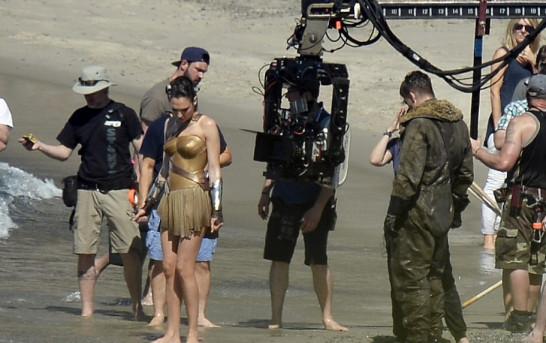 丁圖 ! ? Wonder Woman 拍攝埸地相片流出 !