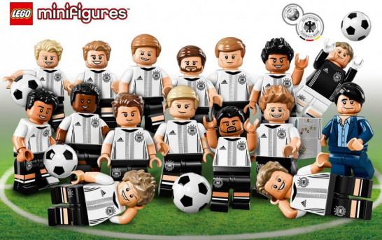 LEGO 德國國家足球隊 Minifigures 5月14日發售
