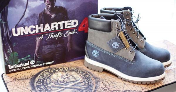 PlayStation X Timberland 全球限量20對 《UNCHARTED 4: A Thief's End》特別版6吋皮靴