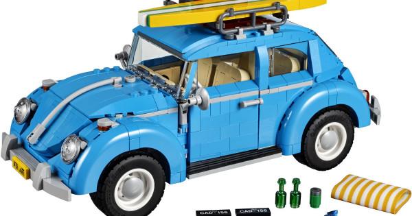 可玩性超高 LEGO 10252 Volkswagen Beetle