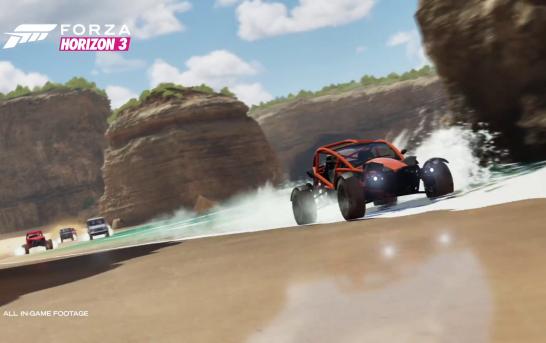[E3專題]《Forza Horizon 3》隨時極速挑戰四人遊玩