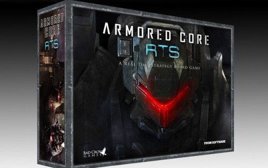 Armored Core唔出TV Game出Board Game