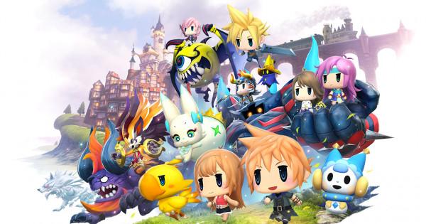 FF加捉怪 World of Final Fantasy中文化10月上市