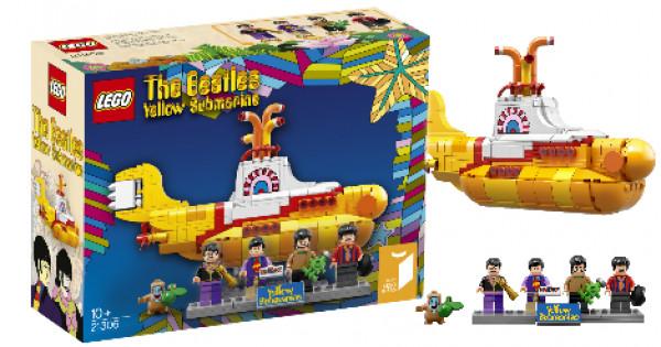 LEGO Ideas新作 21306 The Beatles Yellow Submarine