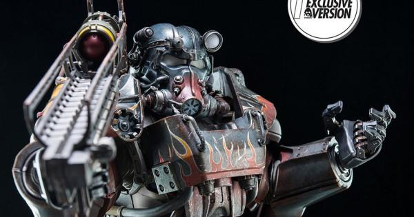買左都驚唔捨得玩 Threezero出品Fallout 4 T-60 Power Armor