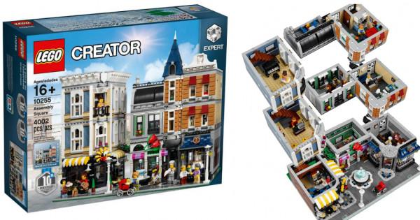 Lego 10255 Assembly Square 官圖有得睇