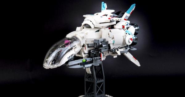 超高汁神還原 LEGO MOC R-TYPE FINAL R-9A ARROW-HEAD