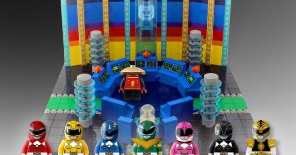 【機會黎啦飛雲】投票支持出 Lego版《Power Rangers》!