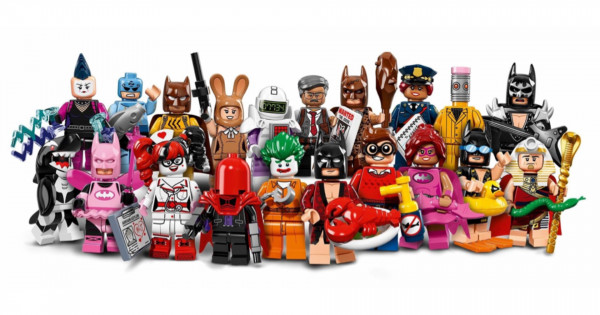 萬眾期待 71017 The LEGO Batman Movie Minifigures 有圖睇