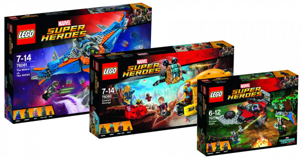LEGO Guardians of the Galaxy Vol.2  官圖公開