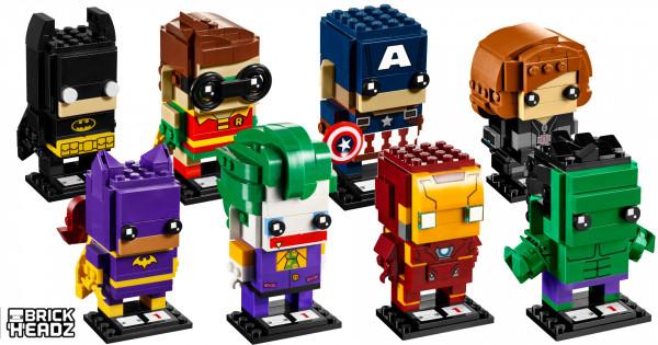 四方頭好得意 LEGO BrickHeadz 官圖公開
