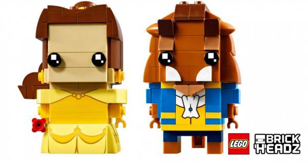 一百蚊都唔洗 LEGO BrickHeadz 「美女與野獸」登場