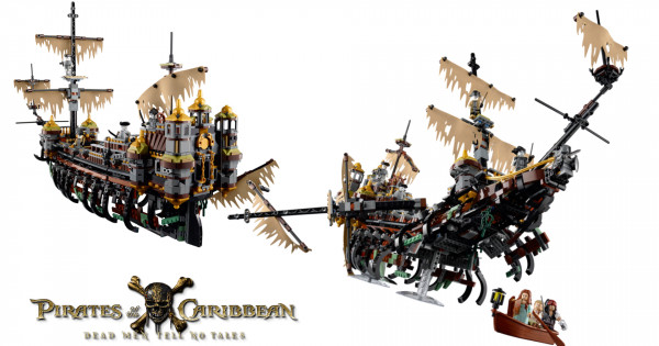 LEGO 71042 Pirates of the Caribbean Silent Mary 開訂