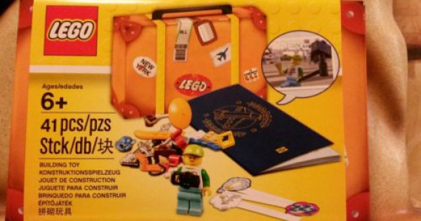 LEGO Traveler 必備 5004932 LEGO TRAVEL BUILDING TOY