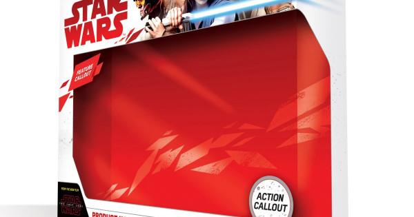 星戰第8集玩具包裝曝光 ! 1:1 X-Wing 機師頭盔型到裂 !