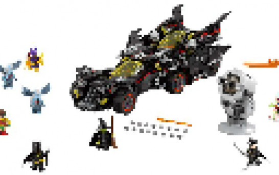 [一圖劇透] The LEGO Batman Movie 70917 The Ultimate Batmobile 公佈