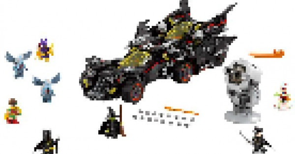 [一圖劇透] The LEGO Batman Movie 70917 The Ultimate Batmobile 公佈
