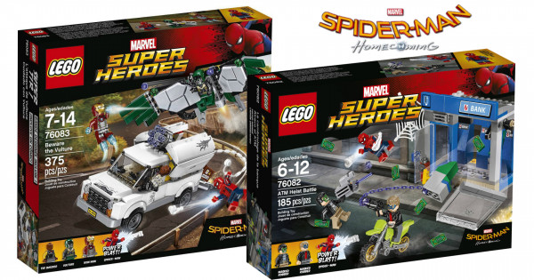 [真係Coming] LEGO Spider-man: Homecoming 官圖發佈