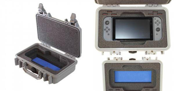 [打機定打仗]最強Nintendo Switch保護箱 爆炸都保得住