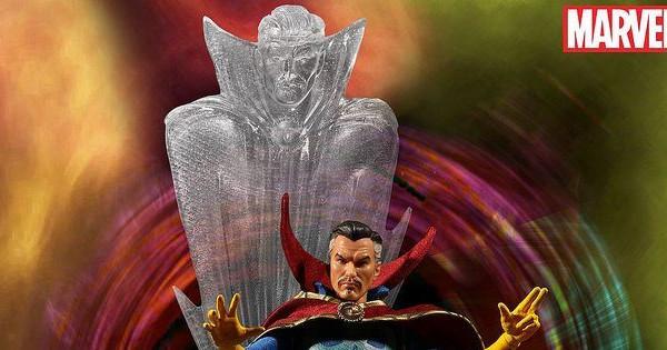 Dr. Strange 1/12 著衫 figure 玩埋靈魂出竅 !