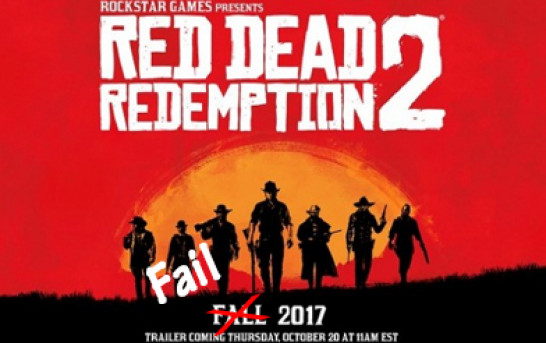 Red Dead Redemption 2 大延期!! 預左啦……….