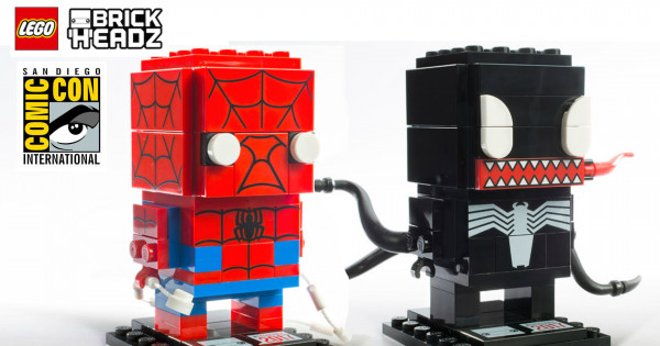 [SDCC 2017] SDCC期間限定LEGO BrickHeadz 41497 Spider-Man & Venom