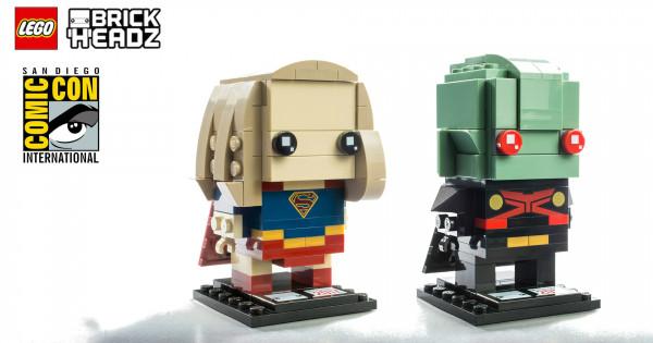 [SDCC 2017] SDCC期間限定LEGO BrickHeadz 41496 Supergirl & Martian Manhunter