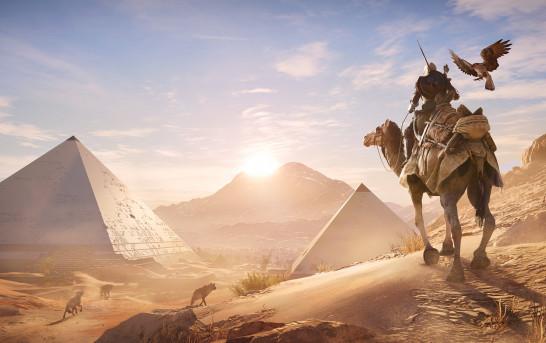 《刺客教條:起源》實機片段公開 今年10月重回古埃及