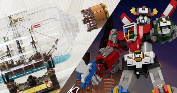 LEGO Ideas 2016 第三輪 票選結果出爐 瓶中船、百獸王終於成功!