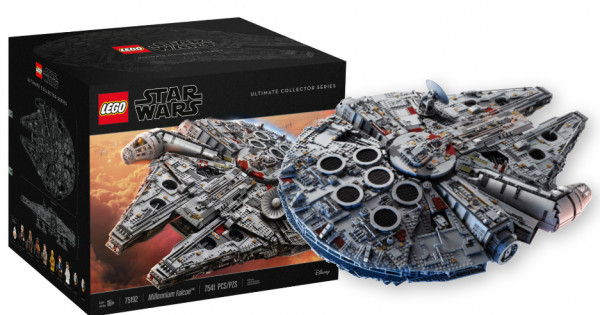 【公價都6千2】最強LEGO 75192 Millennium Falcon 隆重登場!