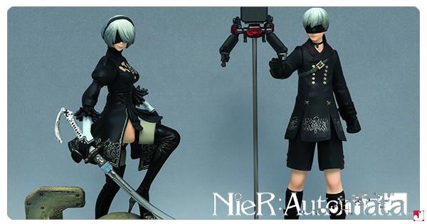 【夏日毒物連鎖】NieR: Automata Figure 第一彈:9S 登場