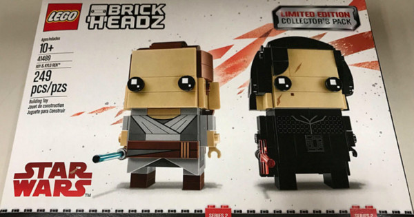 【又限定?!】41489 LEGO BrickHeadz Star Wars Ray & Kylo Ren